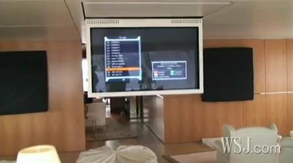 Televizor u spavaćoj sobi izvlači se iz plafona