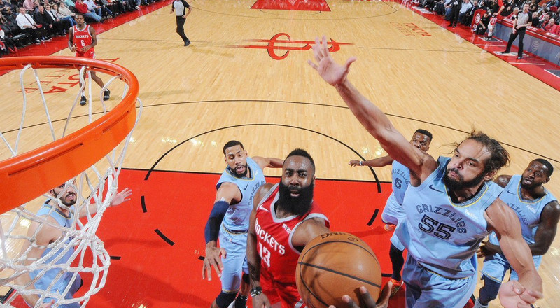 James Harden breaks Kobe Bryant's NBA record as Rockets beat Grizzles