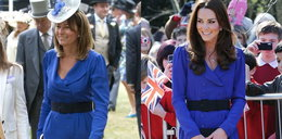 Księżna Kate pożyczyła sukienkę od matki. Fajna?