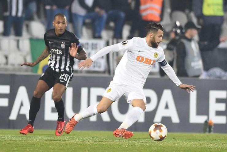 FK Partizan, FK Jang Bojs, Miralem Sulejmani