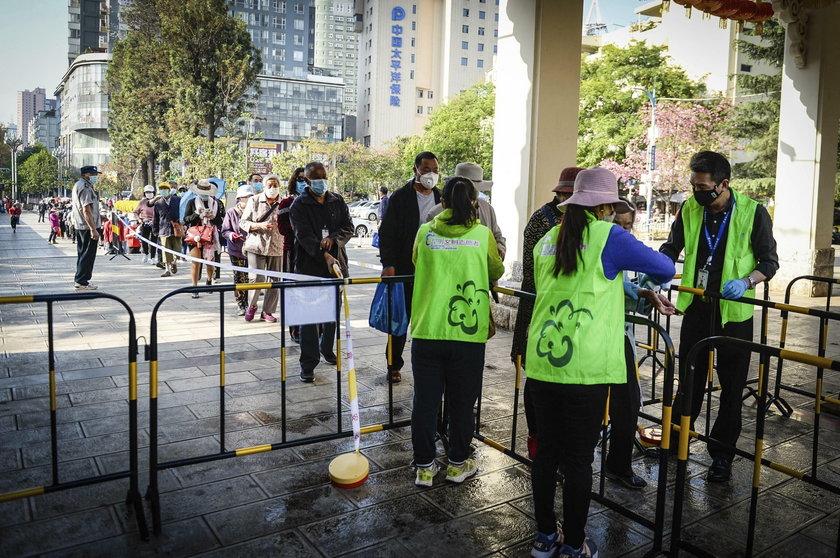 Polka mieszkająca w Chinach o koronawirusie