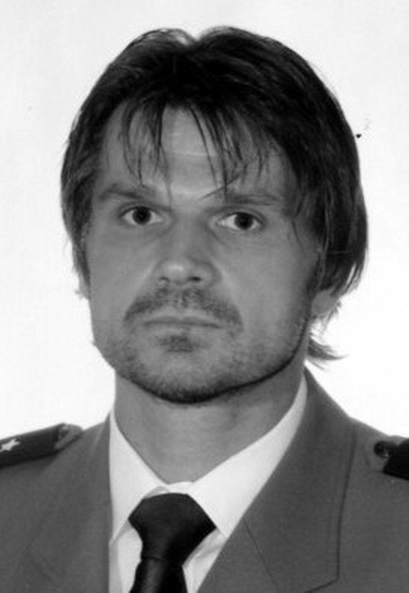 Śp. Paweł Janeczek, oficer BOR, a prywatnie mąż Joanny Racewicz
