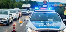 Pijany Polak jechał pod prąd autostradą 21 kilometrów