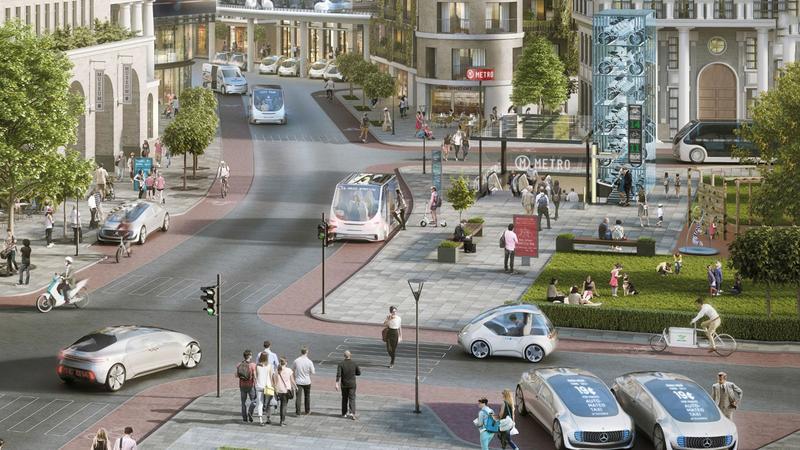 Mercedes i Bosch zapowiadają autonomiczne pojazdy