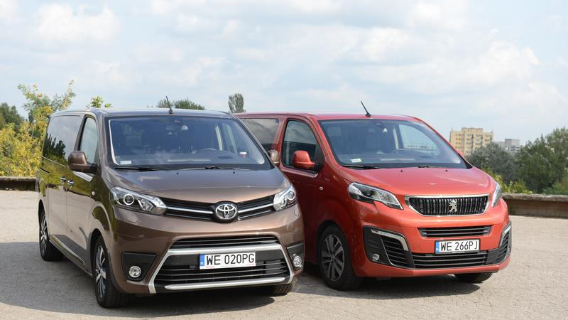Peugeot Traveller i Toyota Proace