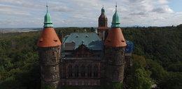 Tajemnice zamku Książ. Zobacz go z lotu ptaka!