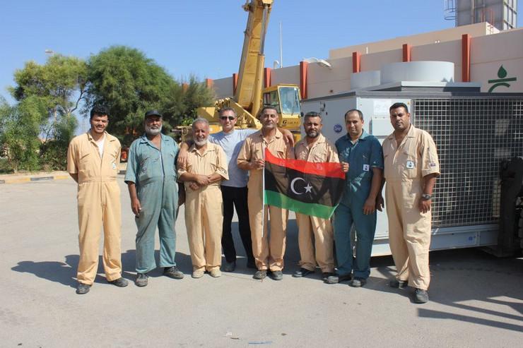 Aleksandar Dronjak, Libija, zatočen