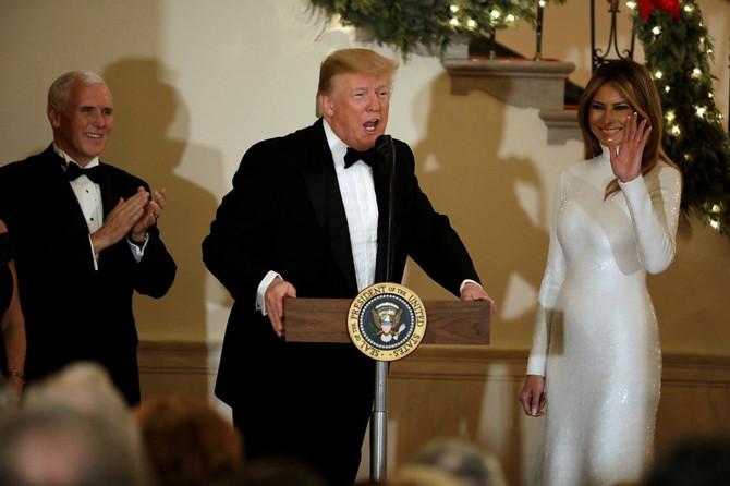 Celo veče uz supruga Donalda
