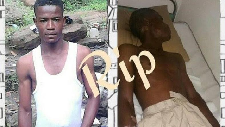 Iyke Ogbonnaya was allegedly murdered by the police