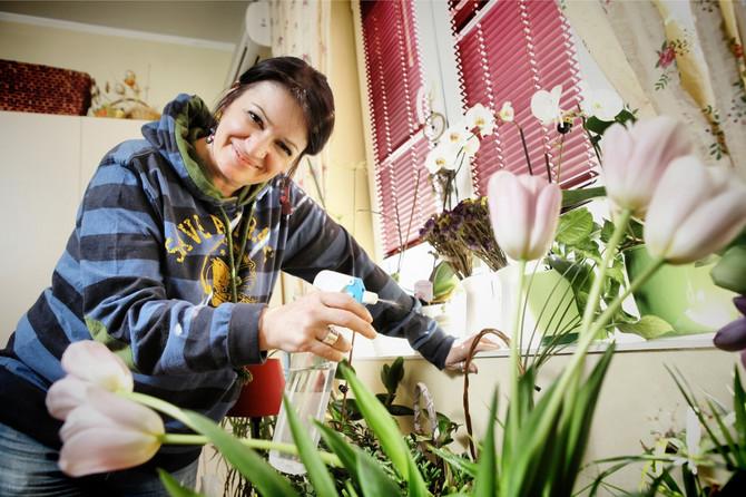 Gorica ima iskustva u gajenju cveća