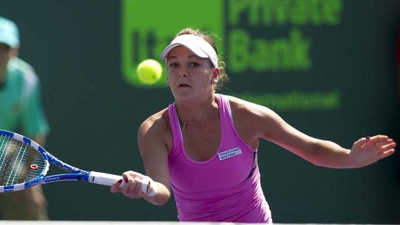Radwańska awansowała w Miami