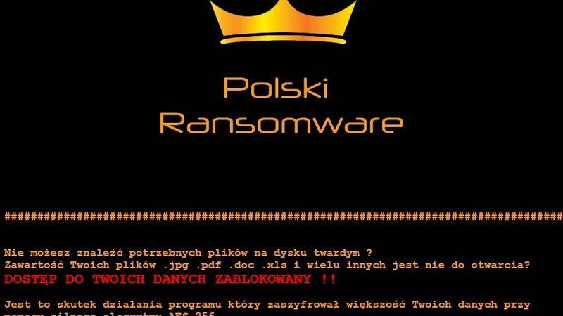 Polski Ransomware