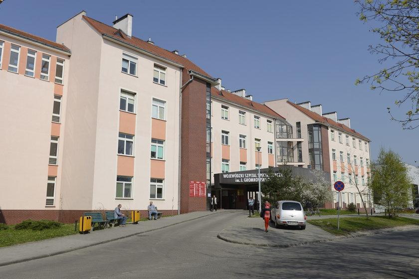 Wojewódzki Szpital Specjalistyczny przy na ul. Koszarowej we Wrocławiu