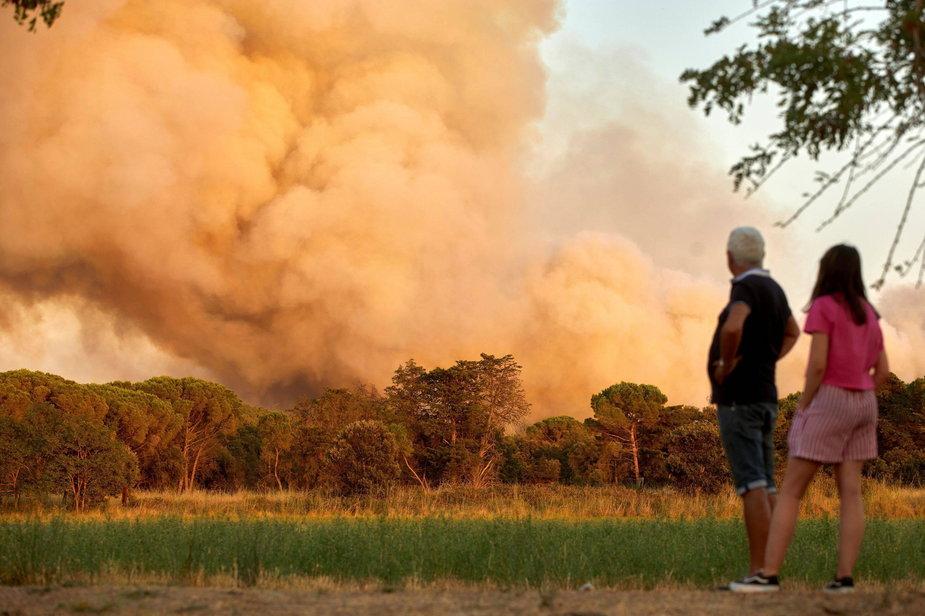 Ponad 300 strażaków zmaga się z pożarem 1,6 tys. ha lasów