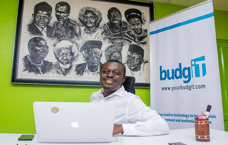 Seun Onigbinde had to resign from BudgIT to take up Buhari's job (BudgIT)
