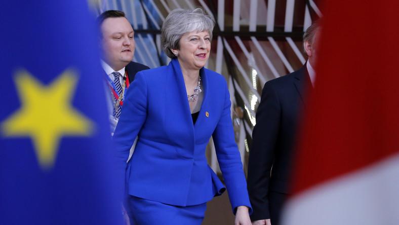 Theresa May na szczycie ws. brexitu