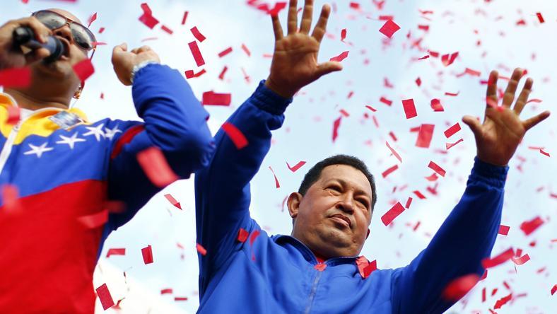Hugo Chavez, fot. Reuters/Jorge Silva