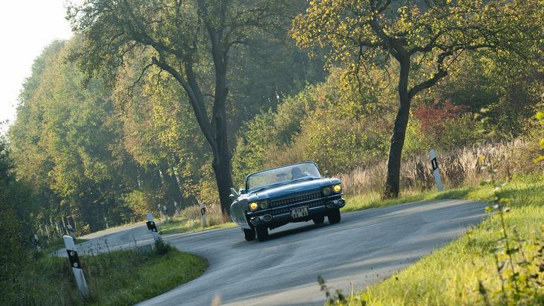 Cadillaca Eldorado czy Mercedesa 220 SE