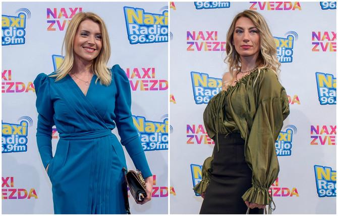 Anđelka Prpić i Ana Stanić na dodeli Naxi Zvezda