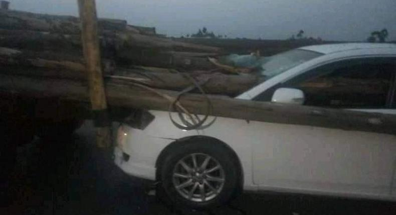 2 dead in grisly accident along Eldoret-Kitale Highway