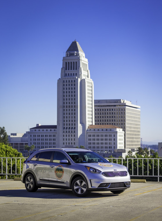 Kia Niro - Guinness World Record w Los Angeles