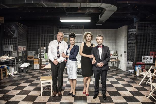 """Iza Kuna, Agnieszka Suchora, Jacek Braciak, Mariusz Jakus. """"Wstyd"""", Teatr Współczesny"""