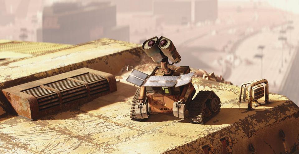"""WALL-E"", reż. Andrew Stanton, 2008 r."