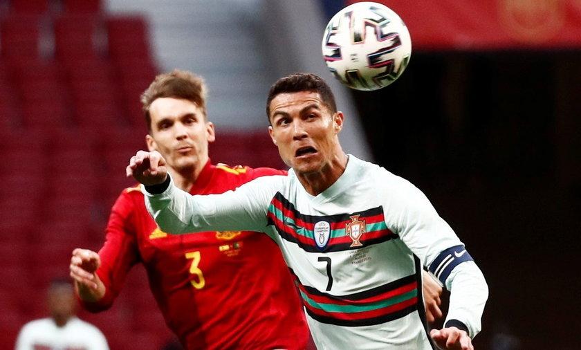 Hiszpania i Portugalia są w ścisłym gronie faworytów Euro 2020. W ich towarzyskim meczu tuż przed Euro padł remis 0-0.
