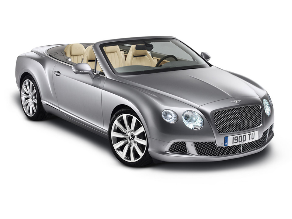 Bentley Continental zrobił striptiz