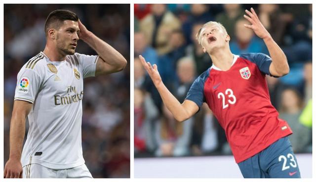 Luka Jović i Erling Braut Haland bi mogli da promene dresove