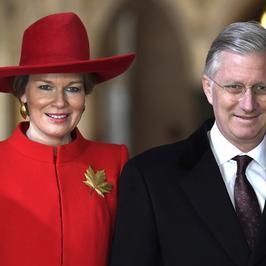 Belgijska para królewska z wizyta w Kanadzie. Stylizacje królowej Matyldy są hitem