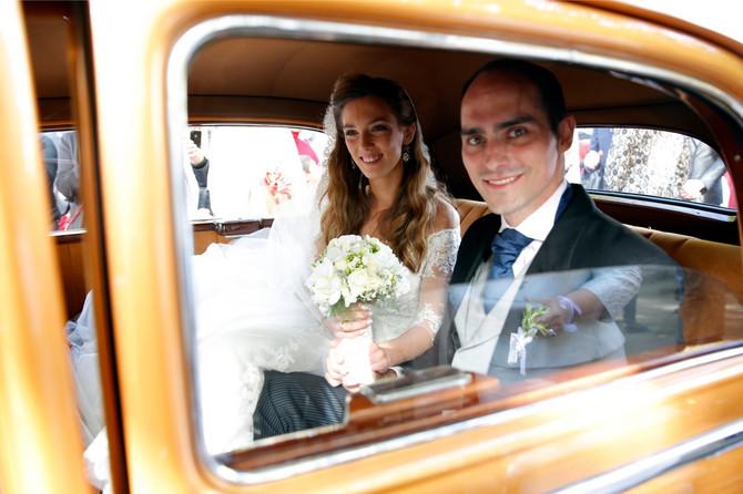 Ljubica i Mihailo Karađorđević na venčanju na Opencu u oktobru 2016. godine