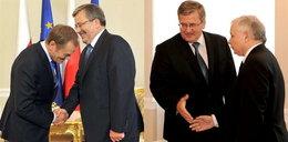 Komorowski osowiał na widok Kaczyńskiego. FOTO