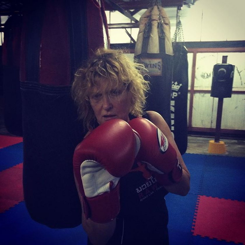 Ewa Kasprzyk uprawia boks