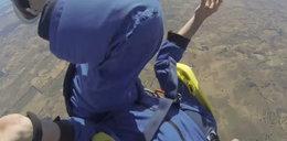 Dostał padaczki skacząc ze spadochronem!