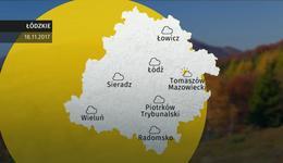 Prognoza pogody dla woj. łódzkiego - 18.11