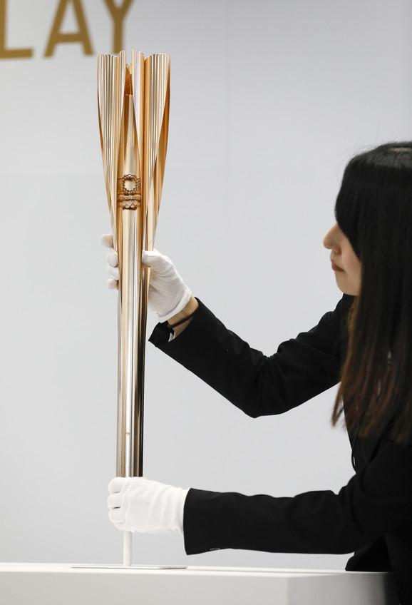 Olimpijska baklja za Tokio 2020