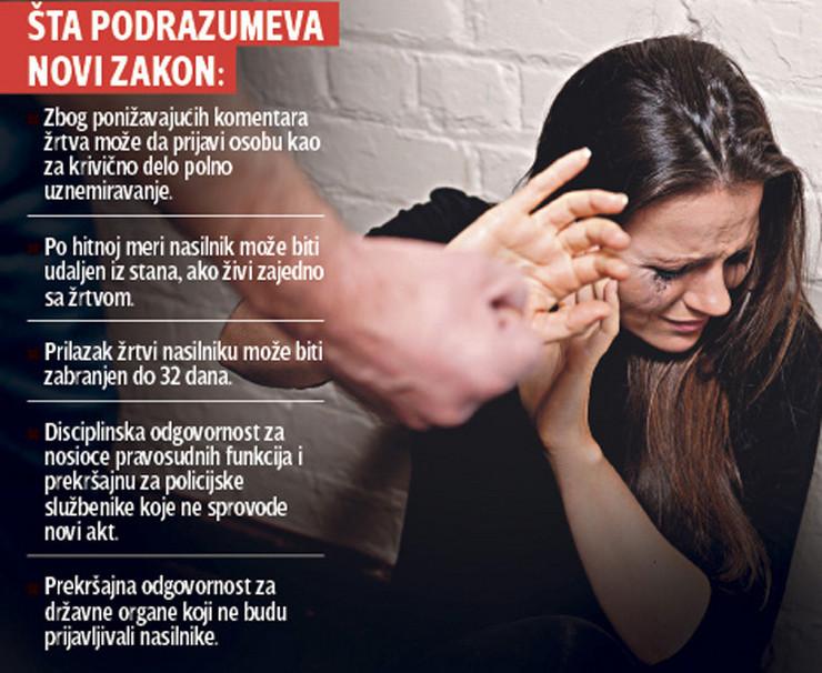 grafika novi zakon nasilje nad zenama foto RAS