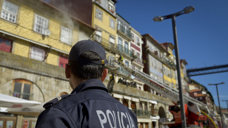 policja Portugalia