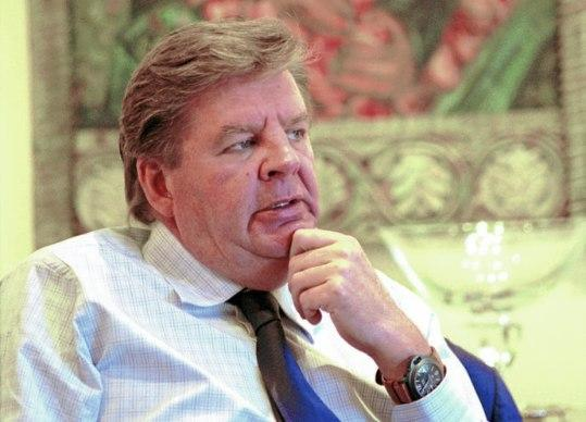 Johann Rupert, South African-born entrepreneur and Richemont Boss.