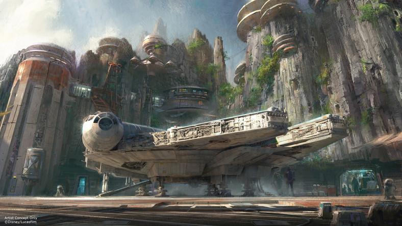 """""""Gwiezdne Wojny"""" będą miały swoje miejsce w parkach rozrywki Walta Disneya"""