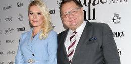 Ryszard Kalisz na imprezie z atrakcyjną żoną! [ZDJĘCIA]
