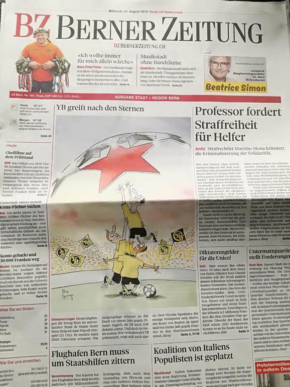 Mediji u Švajcarskoj
