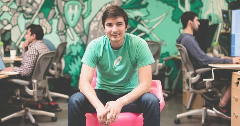 Vlad Tenev, współzałożyciel i CEO aplikacji tradingowej Robinhood
