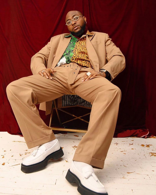 Davido switch up his street style as he features in GQ Magazine South Africa [Instagram/ Davido]