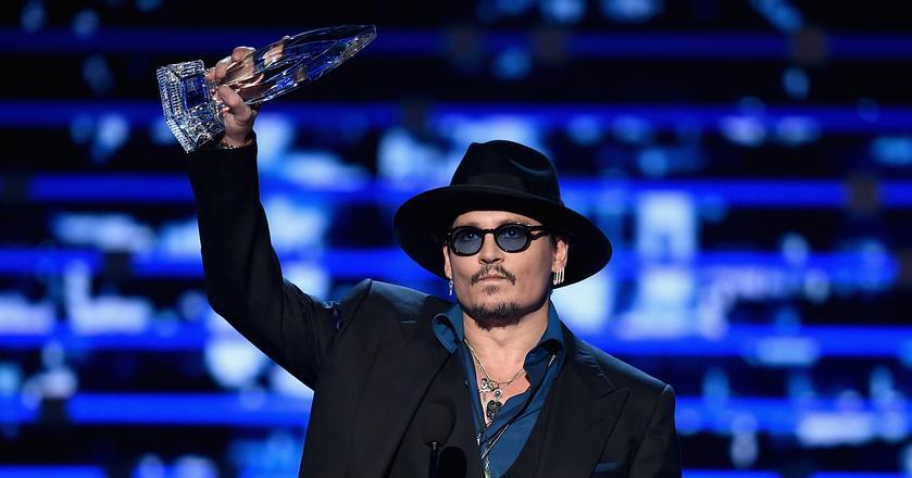 Johnny Depp został ogłoszony najbardziej przepłacanym aktorem 2016 roku