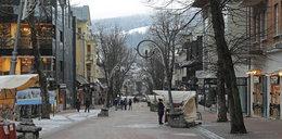 Smutne święta w Zakopanem. Na Krupówkach pustki