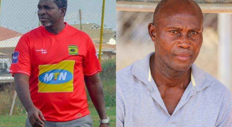 Aduana Stars coach Tandoh describes Maxwell Konadu as 'village coach' after superstition game