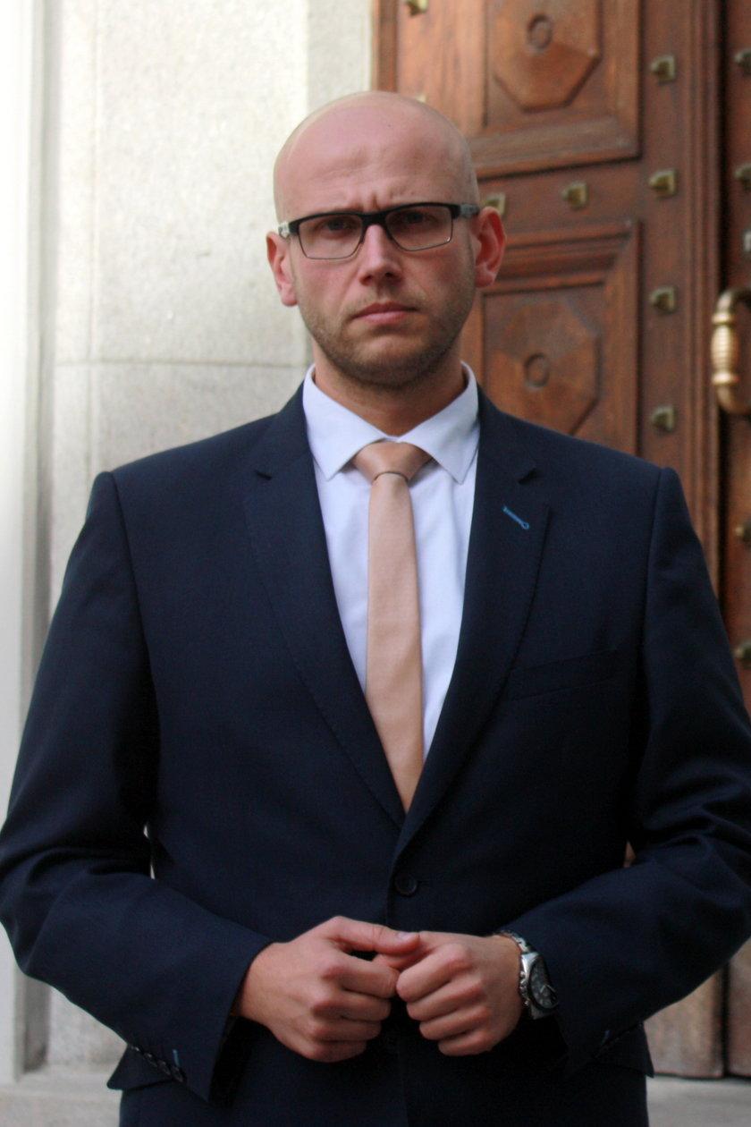 Karol Jakubowski z PKP PLK