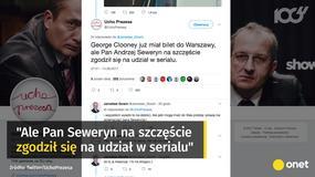 """Jarosław Gowin podziękował Andrzejowi Sewerynowi za rolę w """"Uchu Prezesa"""""""